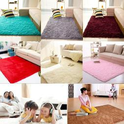 2018 Soft Modern Area Rugs Fluffy Living Room Carpet Childre