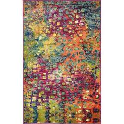 Unique Loom 3119581 Area Rug, 3 x 5, Multicolor