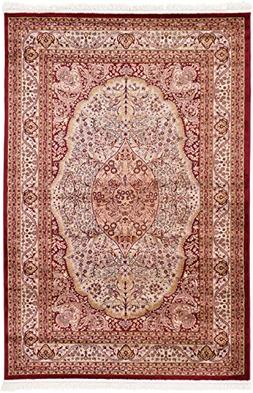 Unique Loom 3130700 Area Rug, 6' 7 x 9' 6, Red