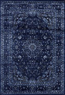 3212 Distressed Denim 5x7 Area Rug Carpet Large New