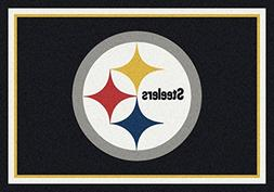 Pittsburgh Steelers NFL Team Spirit Area Rug by Milliken, 3'