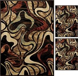 Home Dynamix 4473-450 3 Piece Catalina Collecton Area Rug Se