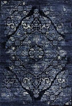 4620 Distressed Navy Area Rug High Quality Large Carpet All