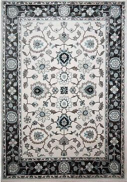 5x7 Home Dynamix Bordered Scrolls Vines Area Rug 6530-57 - A