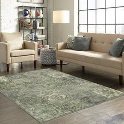 7 x 10 Distressed Patchwork Area Rug Washed Colors Carpet Fl