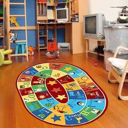 Furnish my Place 745 Abc with Animal 3x5 Kids Children Rug A