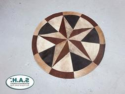 High Quality Cowhide Rug Leather Cow Hide Steer Patchwork Ar