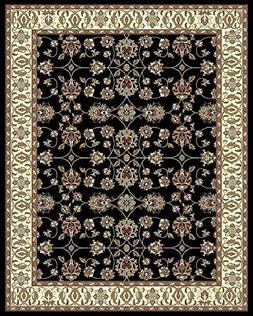 Large Rugs for Living Room 8x10 Black Clearance Area Rugs 8x