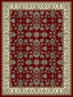 Large Rugs for Living Room 8x11 Red Traditional Clearance Ar