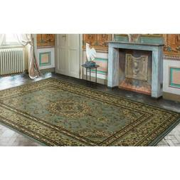 "Ottomanson Royal Collection Area Rug, 7'10"" X9'10, Seafoam O"