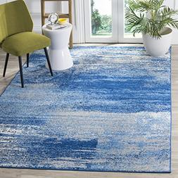 Safavieh Adirondack Collection ADR112F Silver and Blue Moder
