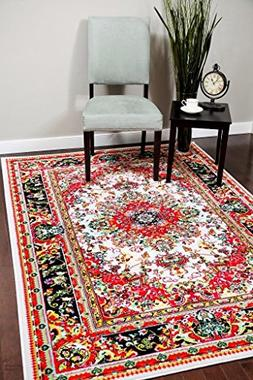 A100 Ivory 7'10x10'6 Area Rug Carpet Large New