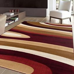 """Rugshop Abstract Contemporary Modern Area Rug, 3'3"""" x 5'3"""","""