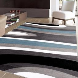 RUGSHOP ABSTRACT CONTEMPORARY MODERN SOFT AREA RUGS