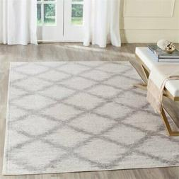 Safavieh Adirondack 6' X 9' Power Loomed Rug in Ivory and Si