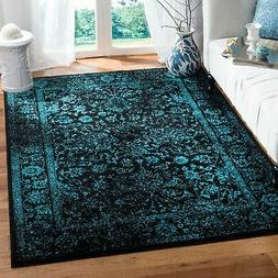 Safavieh Adirondack Collection ADR109K Black and Teal Orient