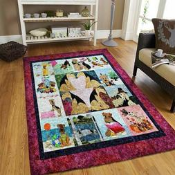 AIREDALE DOG RUG, FUNNY GIFTS Area Rug, Floor Decor