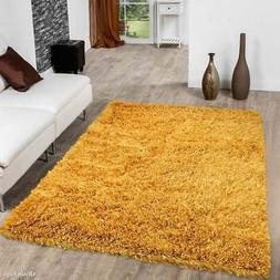 Allstar Solid Hand Knotted Modern Shaggy Rug