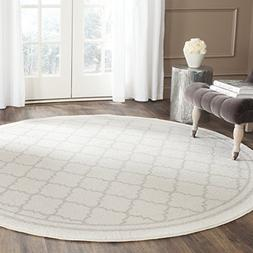 Safavieh Amherst Collection AMT422E Beige and Light Grey Ind