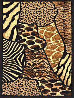 Animal Skin Prints Patchwork Leopard Zebra Rugs 4 Less Colle