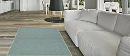Maxy Home Hamam Solid Sage Green 5 ft. x 6 ft. 6 in. Rubber