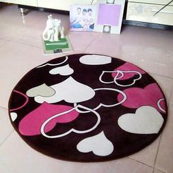 Anti-Skid Coral Velvet  Area Rug Home Bedroom Bathroom Floor