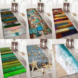Anti-Skid Dining Room Carpet Shaggy Soft Area Rug Bedroom Re