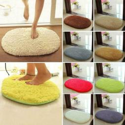 Anti-Skid Fluffy Shaggy Area Rug Home Bedroom Floor Door Mat