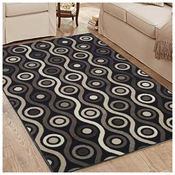 Superior Archer Collection Area Rug, 8mm Pile Height with Ju
