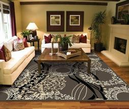 AS Quality Rugs Large Living Room 8x10 Contemporary Light Br