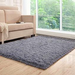 HEBE Area Rug, Area Rugs Fluffy Living Room Carpets Suitable