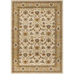 "Art of Knot ""Cicero Area Rug, 9' x 12', Khaki/Tan/Dark Brown"