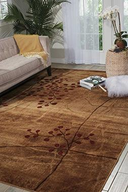 Nourison Area Rug, Somerset Collection ST74 Latte Blossom 7'