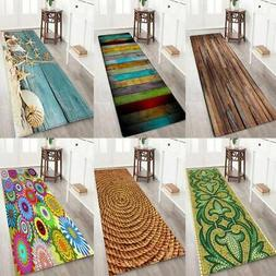 3D Print Thick Flannel Non-slip Mat Home Kitchen Floor Mat B