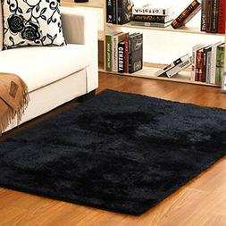 Area Rug Ultra Soft Fluffy Thick Indoor Home Decor Living Ro