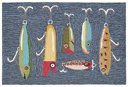 KensingtonRow Home Collection Area Rugs -Great Lakes Fishing