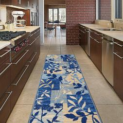 Area Rugs Modern Non-Slip Kitchen Bathroom Hallway Runner Ru