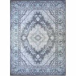 """Home Dynamix Area Rugs: Oxford Rugs: 6531-451 Gray: 5' 2"""" x"""