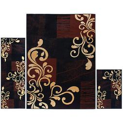 Home Dynamix Ariana Collection 3-Piece Area Rug Set HD1879 5