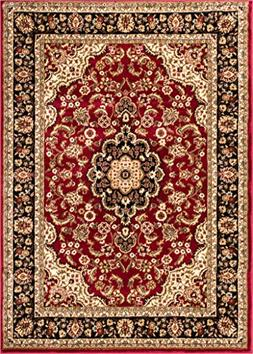 Well Woven Barclay Medallion Kashan Red Traditional Area Rug