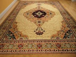 Beige Area Rugs 8x11 Rugs 5x8 Carpet 8x11 Cream Traditional