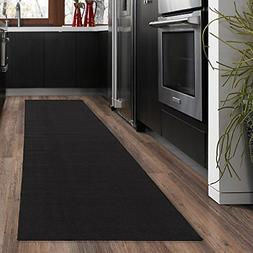 black modern hall runner rug long rugs