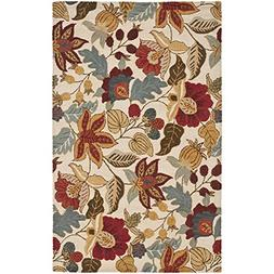 Safavieh Blossom Collection BLM863B Handmade Ivory and Multi