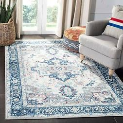 Safavieh Brentwood Traditional Light Grey / Blue Rug
