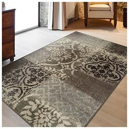 Superior Bristol Collection Area Rug, 8mm Pile Height with J