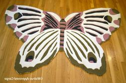 ANTHROPOLOGIE BUTTERFLY RUG  -NWT- LET YOUR HOME DÉCOR REAL