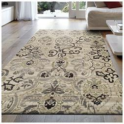 Superior Caldwell Collection Area Rug, 8mm Pile Height with