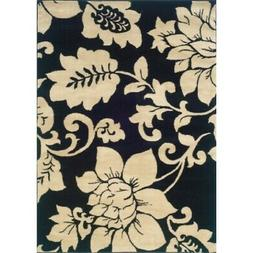 Oriental Weavers Camden 2235B Area Rug in Black and Ivory 7'