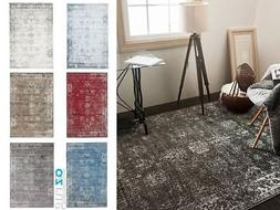 Canterbury Rug Modern Traditional Vintage Inspired Overdyed