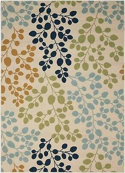 Nourison Caribbean Ivory Indoor/Outdoor Area Rug